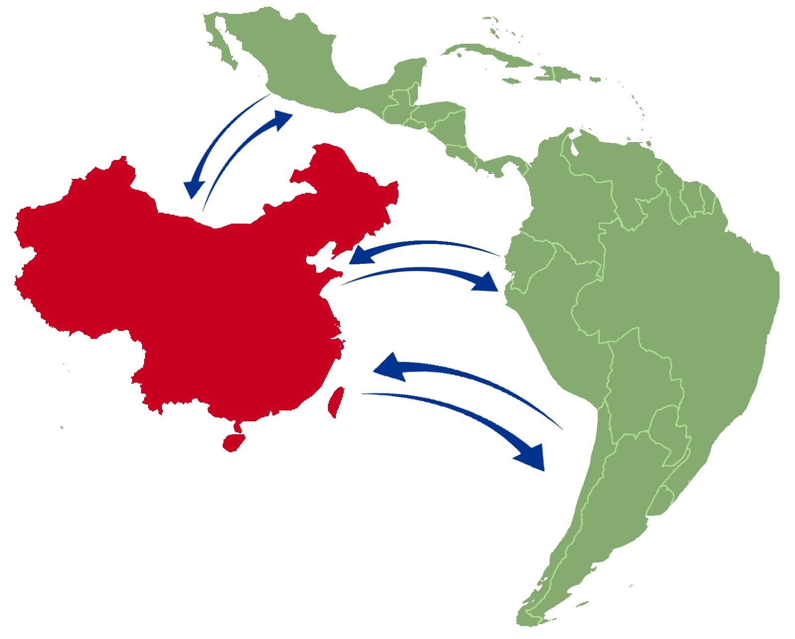 Chinese Map Of America.Chinese Investment In Latin America Americas Market Intelligence