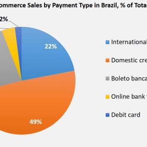2016 brazil e-commerce sales by payment type