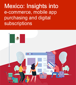 Mexico: Insights into e-commerce, mobile app purchasing and digital subscriptions