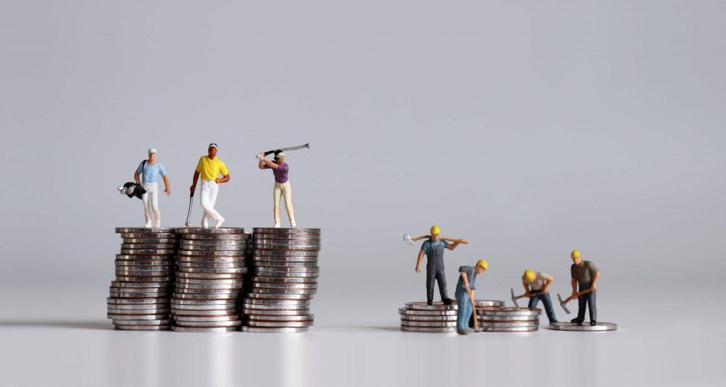 Worsening Distribution of Wealth